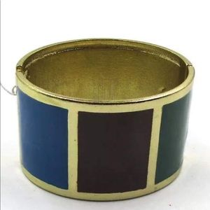 Jewelry - 🚨 5/$20 Colorful enamel bangle NWOT